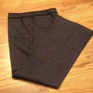 Chico's gray tweed pants